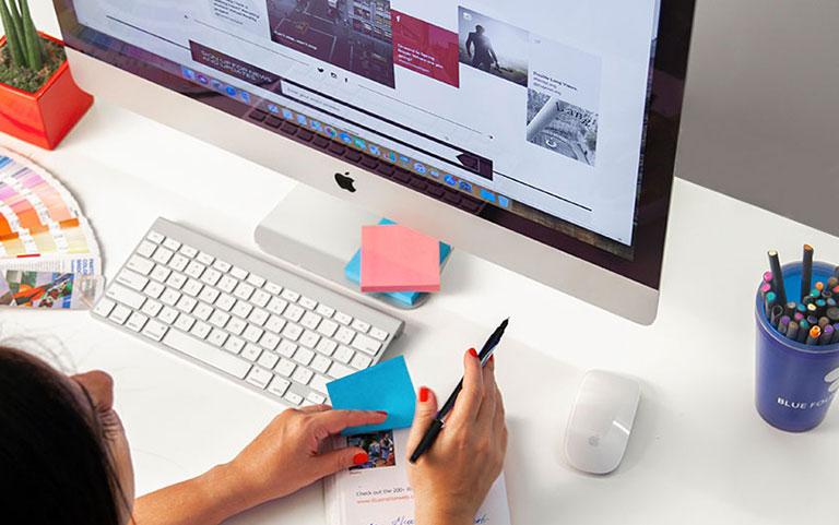 web designer - portfolio url