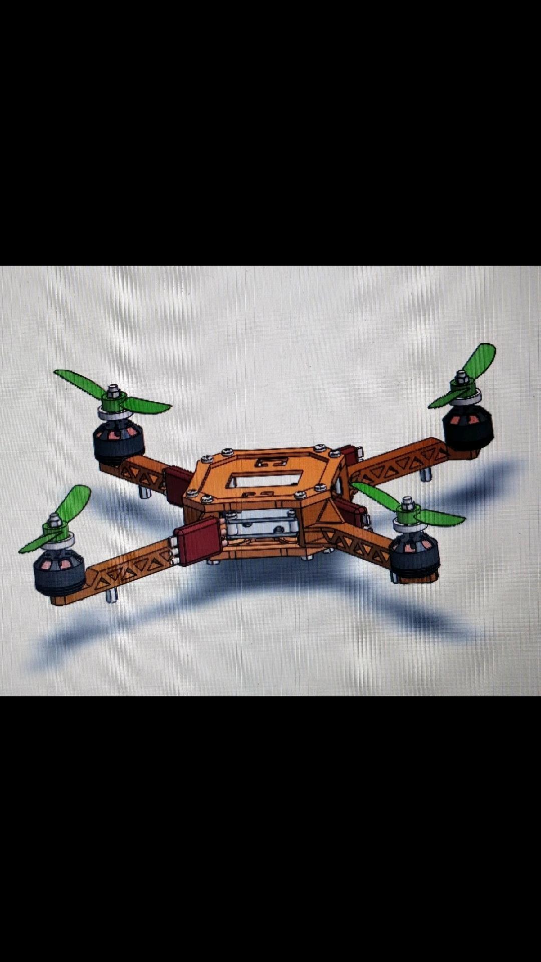 Solidworks Quadcopter Design