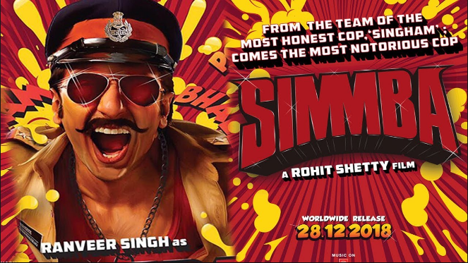 Article on Pre-Release bollywood film Simmba!