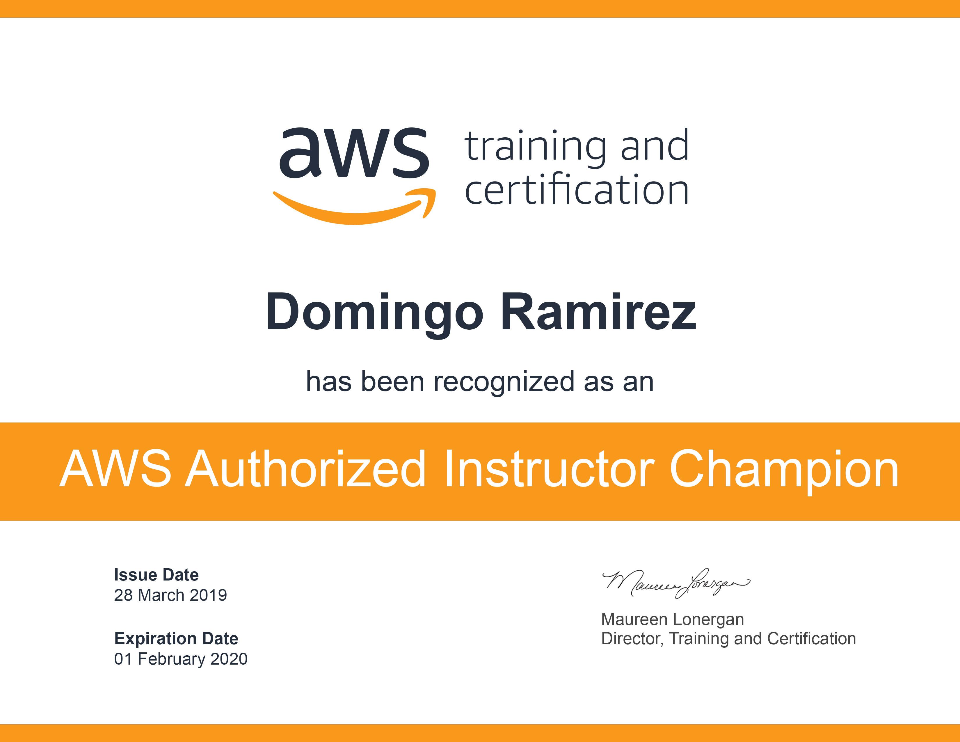 Certificaciones AWS