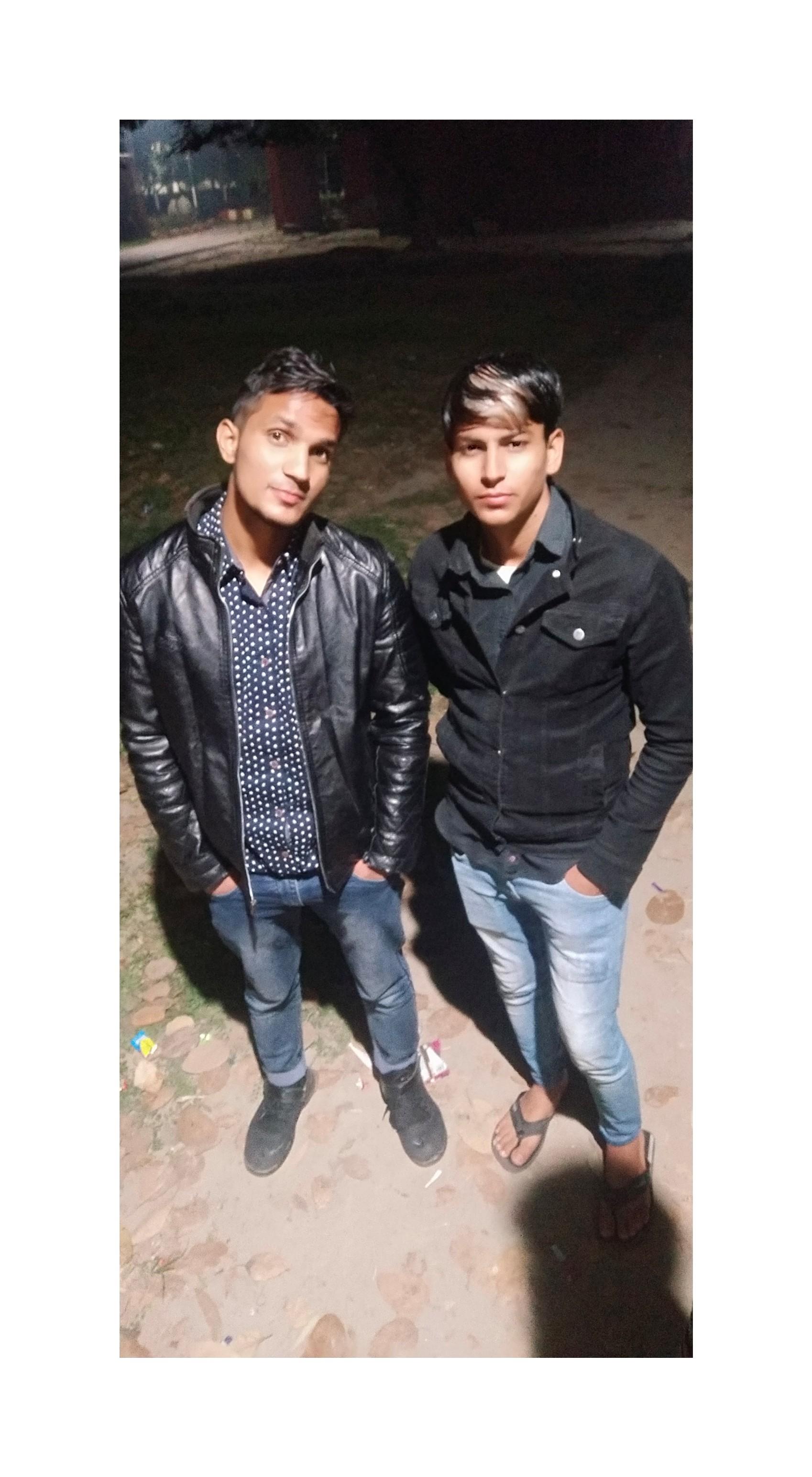 The Man And Aaqil Bro ??