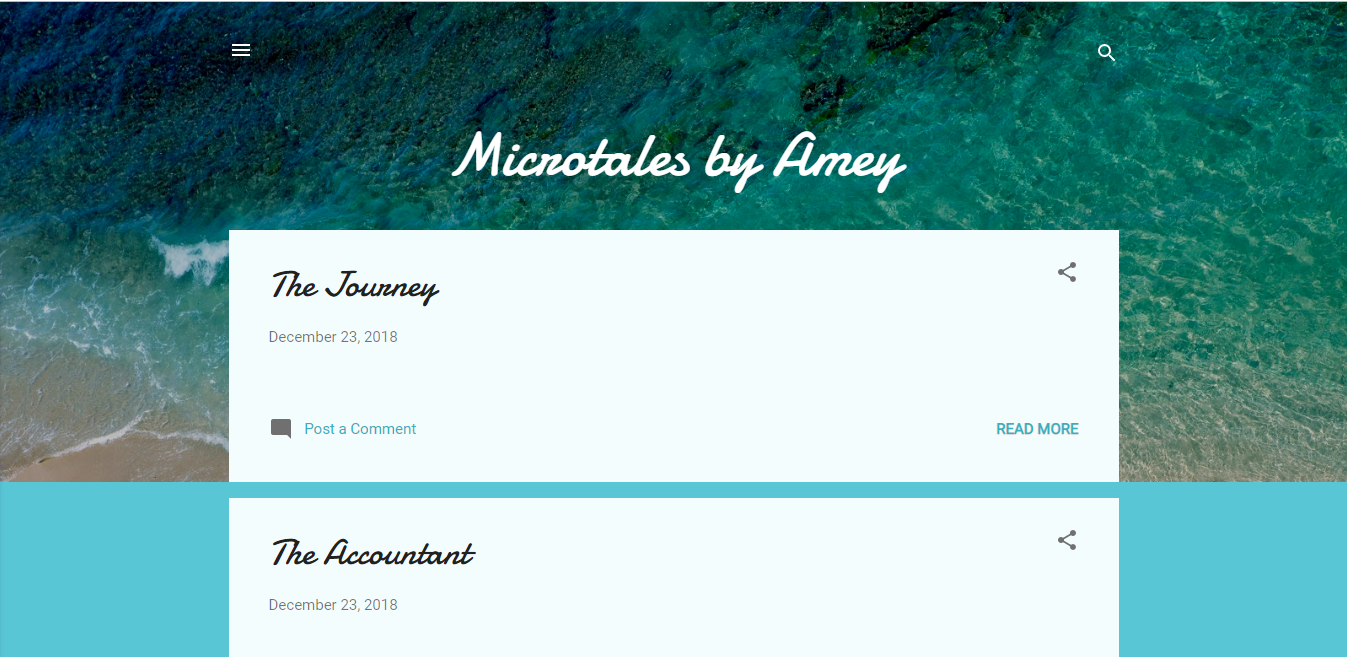 Microtales by Amey