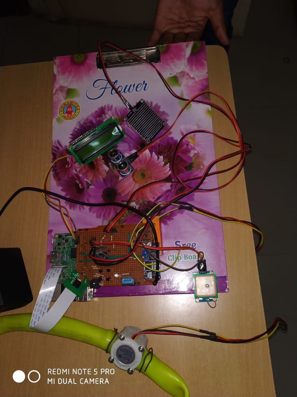 Rescue Device Using raspberry pi